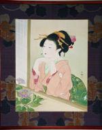 美人画/雨上がり-ameagari