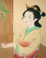 美人画/雨上がる-ameagaru