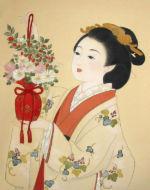 美人画/茱萸袋-gumibukuro