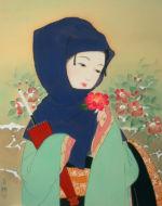 美人画/さざんか-sazanka