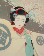 美人画/桜-sakura