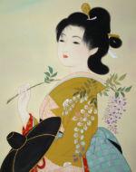 美人画/藤の頃-fujinokoro
