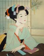 美人画/七夕(願い)-tanabata-negai