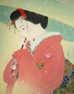 美人画/雪-yuki