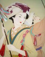 美人画/煤払い-susuharai