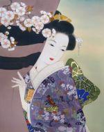 美人画/花と見紛う-hanatomimagou