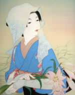 美人画/笹百合-sasayuri