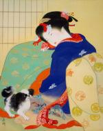 美人画/炬燵-kotatsu