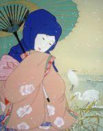 美人画/白鷺-shirasagi