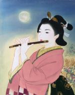 美人画/篠笛-shinobue