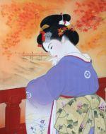 美人画/竜田川-tatsutagawa