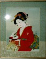 美人画/雪うさぎ-yukiusagi
