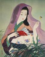 美人画/夕涼み-yusuzumi