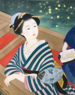 美人画/蛍狩り-hotarugari