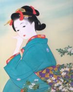 美人画/袖を引くのは-sodewohikunowa