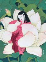 童女画/蓮をまとう-hasuwomatou