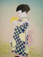 童女画/たんぽぽ-tanpopo