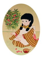 童女画/つまべに-tsumabeni
