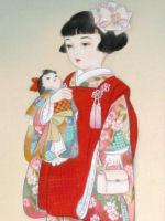 童女画/人形3-ningyou