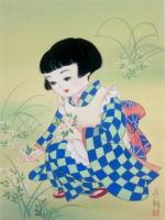 童女画//野菊-nigiku