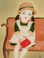 童女画/写真館にて-syasinkannnite