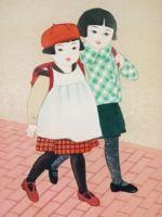 童女画/二人-futari
