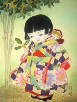 童女画/きんもくせい-kinmokusei